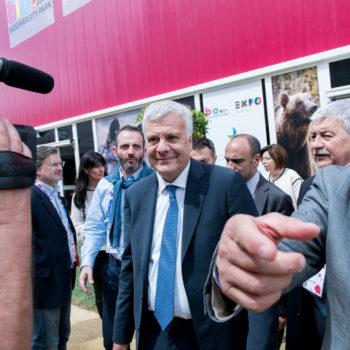 EXPO EVENTI - MINISTRO DELL'AMBIENTE GIAN LUCA GALLETTI
